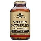Solgar B Complex con Vitamina C - 250 Cápsulas