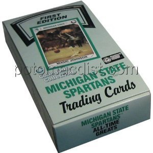 Michigan State Spartans All Time Greats Trading Cards Box 36 Packs of 8 First Edition by Collegiate Collection Collegiate Collection