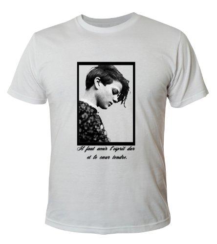 Mister Merchandise Cooles Herren T-Shirt Sophie Scholl , Größe: S, Farbe: Weiß (Star Wars-jugend-t-shirt)