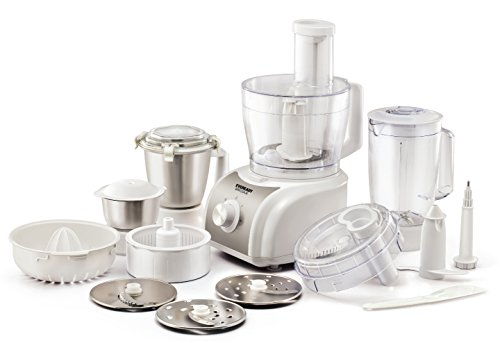 Eveready Ercole 1000-Watt Food Processor (White)