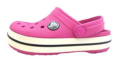 Size 5 Crocs Girl's Crocband Croslite Clogs