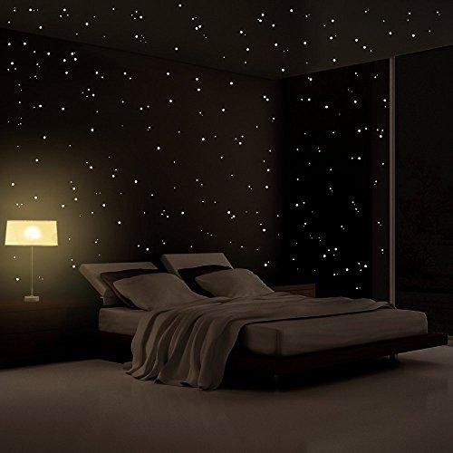 punkte für leuchtenden Sternenhimmel - leuchtend im Dunkeln (Nacht Unter Den Sternen-dekorationen)