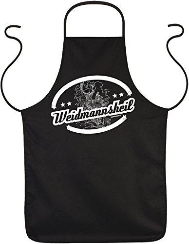 Coole Grill- oder Kochschürze - Weidmannsheil - Fun Geschenk und Mitbringsel. Geschenkidee, Jäger