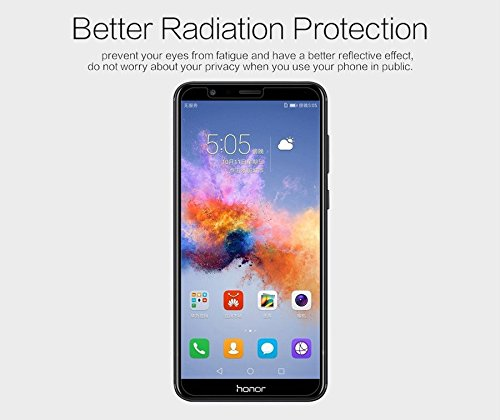 Nillkin Screen Guard for Huawei Honor 7X 7 X Whole Set Version Matte Anti Glare Front + Camera Sticker