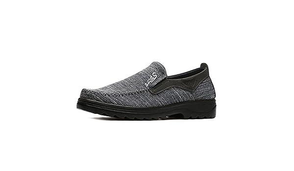 Mocassin Toile Léger Chaussure Espadrille Confort En Homme Vieil fRwnEwx