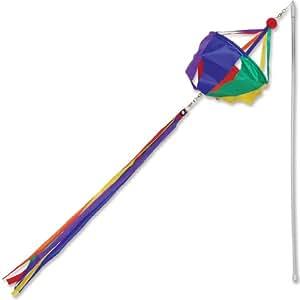 Premier Kites 18011Baumwollmusselin Wind Zauberstab, Spinner, Rainbow