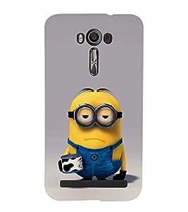 EPICCASE Grumpy Me case Mobile Back Case Cover For Asus Zenfone 2 Laser ZE500KL (Designer Case)