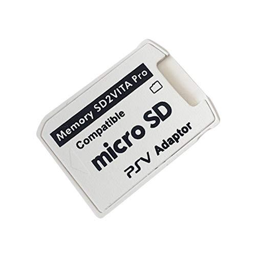 Adaptateur SD2VITA version 5.0 de petite taille professionnel pour PS Vita Memory TF Card pour PSVita Game Card1000 / 2000 PSV Adapter
