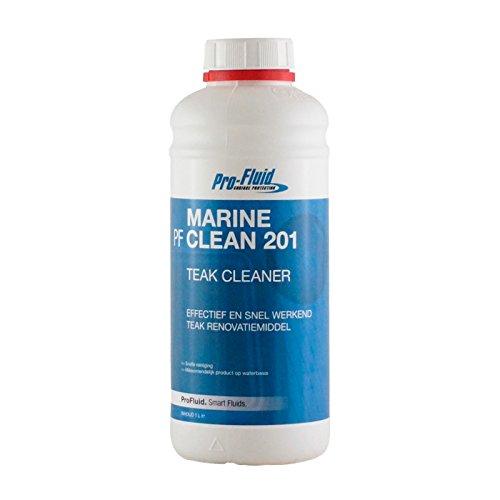 ProFluid Clean 201 - Teak Reiniger 1000 ml // Boot und Deck Reiniger -