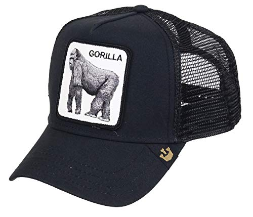 Goorin Bros. Trucker Cap King of The Jungle Schwarz, Size:ONE Size