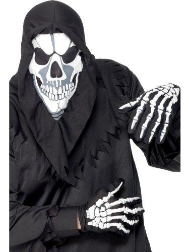 Horror Halloween Karnevall Kinder Kostüm Phantom Sensenmann Skelett
