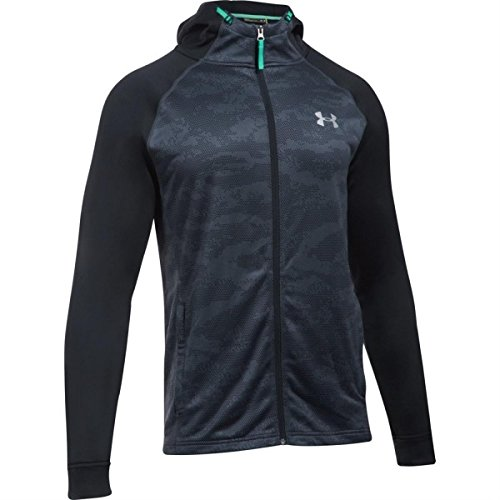 under-armour-2017-coldgear-tech-terry-fitted-fz-hoody-pullover-mens-sports-hoodie-stealth-gray-mediu