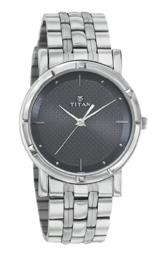 Titan Karishma Analog Black Dial Men's Watch -NK1639SM02