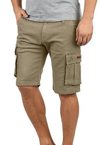 !Solid Laurus Herren Cargo Shorts Bermuda Kurze Hose Aus 100% Baumwolle Regular Fit, Größe:XL, Farbe:Dune (5409)