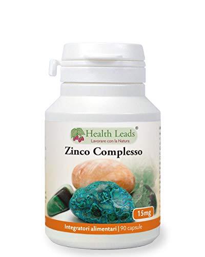 Complessi di zinco 15mg x 90 | Senza stearato di magnesio | Lo zinco aiuta il normale funzionamento del sistema immunitario e contribuisce a mantenere pelle, capelli e unghie sani | Prodotto in Galles