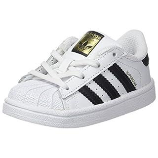 adidas Unisex Baby Superstar Hausschuhe Weiß (Ftwbla/Negbas 000) 21 EU