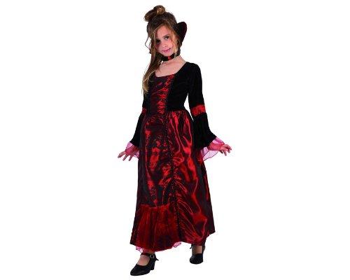 Atosa 98337 - Verkleidung Gothic Vampirin Gr. (Kostüme Gothic Kind Vampirin)
