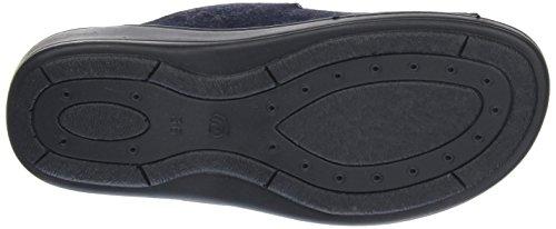 Weeger 14330, Ciabatte Donna Blu (Black 024)