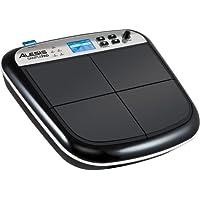 Alesis Sample Pad - Instrumento multi-pad y controlador MIDI para percusiones y disparar samples  y ranura para tarjeta SD/SDHC