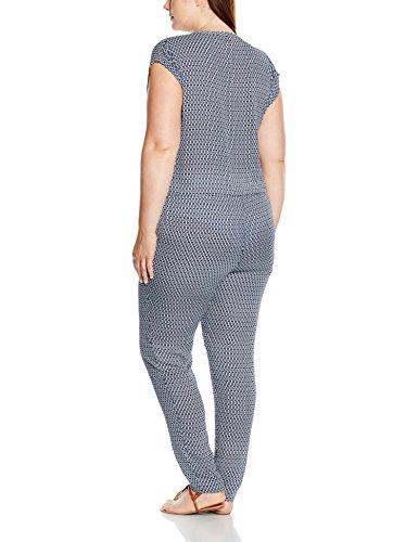 TRIANGLE - s.Oliver Damen Jumpsuits 34.605.85.4672, Blau (Blau 59A0), 48 - 2