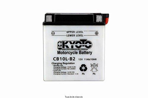 Batterie Moto KYOTO Yb10l-b2 L 136mm W 91mm H 146mm 12v 11ah Acide 0,78l