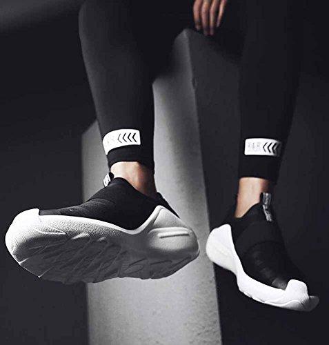 Hombres Zapatillas De Deporte Respirables Otoño Invierno Pu Moda Sneakers Sneakers Lightweight Sneakers Negro