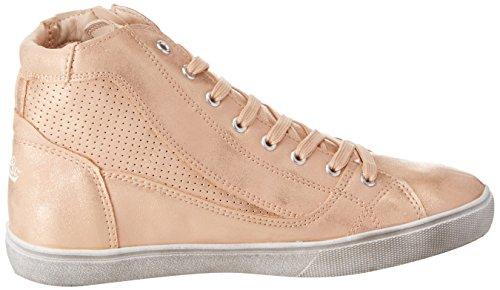 Geka Treasure, Sneaker a Collo Alto Donna Oro (Rosegold Rosegold)
