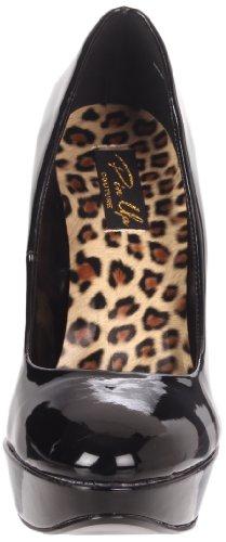 HARLOW-01 - Pleaser USA Shoes Noir