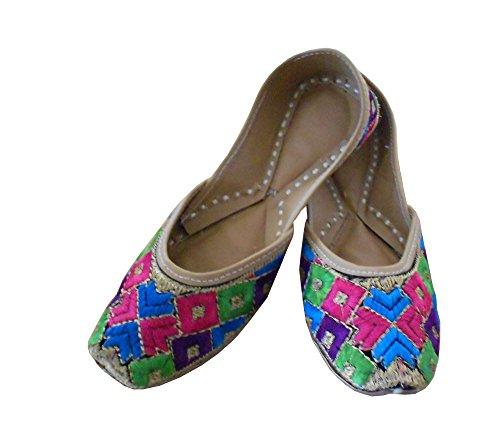 Kalra Creations, Mocassini donna Multicoloured