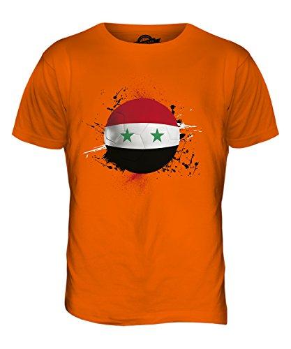 CandyMix Syrien Fußball Herren T Shirt Orange