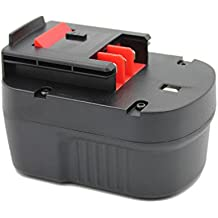 KINSUN Sostituzione Power Tool Batteria 12V Ni-Cd 2000mAh Per Black & Decker Cordless Drill Impact Driver di A12 A12-XJ HPB12 A1712 FS120B FSB12 A12EX FS120B FSB12 - Decker Driver