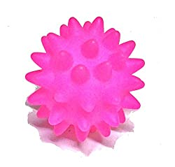 Super Dog Squeeze Spike Ball with Sound Puppy Toy