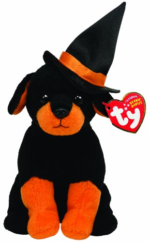 TY Beanie Baby - Alcazam Dog with Witch Hat - 20cm 7""