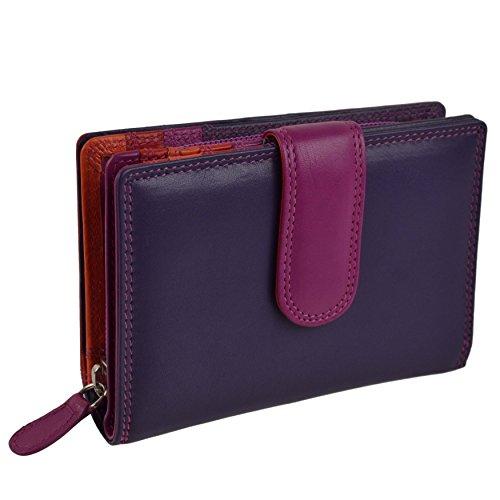 ladies-tab-flap-over-leather-purse-wallet-change-golunski-graffiti-gift-box-china-rose