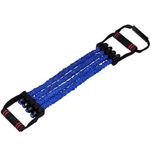 Stretch Muskeltrainer-Abzieher, Kraftwiderstandsseil, Spanner-Krafttrainer-Fitnessgerät, Geeignet Für Heim-Fitnessstudio (Color : Blue)