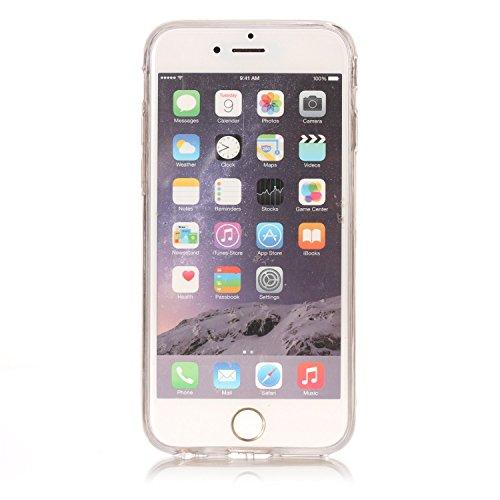 iPhone 6/6S Coque, Voguecase TPU avec Bling Poudre Interne, Etui Silicone Souple avec Absorption de Choc, Légère / Ajustement Parfait Coque Shell Housse Cover pour Apple iPhone 6/6S 4.7 (SharPei 03)+  Believe 01