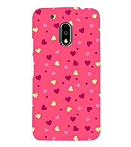 Classic Love Wallpaper 3D Hard Polycarbonate Designer Back Case Cover for Motorola Moto G4 Plus :: Moto G4+ :: Moto G4