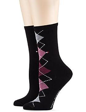 Tommy Hilfiger Damen Socken, 2er Pack