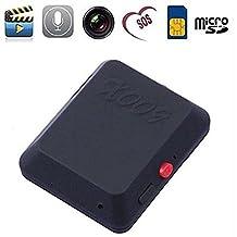 EPTEK@Mini espía localizador de GPS cámara oculta monitor de la videocámara GSM oído error de detección deive GSM 850/900/1800 / 1900MHz video grabadora de audio Dispositivo de seguimiento GPS