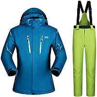 Jiuyizhe Abrigo de Invierno cálido Mountain Ski Jacket Impermeable a Prueba de Viento Impermeable Chaquetas Abrigo para Hombres (Color : 05, Size : XXXL)