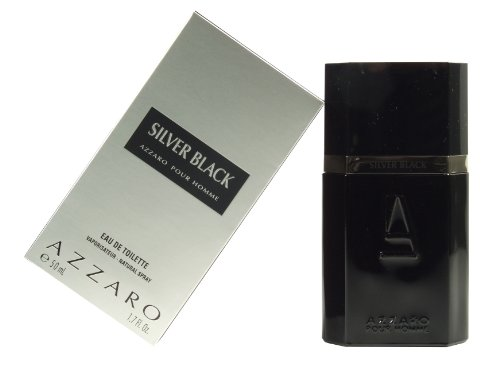 Azzaro Silver Black Eau De Toilette, 50ml