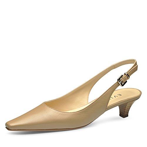nu cuir lisse escarpins Evita sling Shoes LIA xHIFxqYP