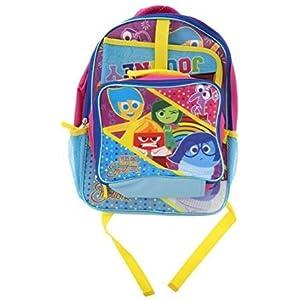 41zD01eBs5L. SS300  - Inside Out 15pulgadas mochila cartucho 9,4pulgadas Caja de almuerzo con caracteres Riley, alegría, tristeza, Ira, Miedo y asco