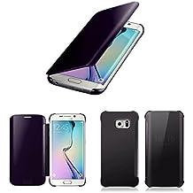 R.P.L. Mirror Case apto para Samsung Galaxy S6Edge y S6Edge Plus/funda/carcasa/Flip Cover/Flip Cover/Funda Tache/Clear View transparente Cover/Case/Espejo Funda/Carcasa/Funda
