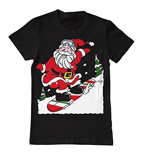 unny Christmas Santa-Kostüm Elf Santa und Rentier-Motiv, Fairisle-Muster, für Snowboard (Santas Elf Erwachsene Kostüme)