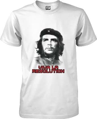 Che - Viva La Resolution - Funnys t-shirt - white - L