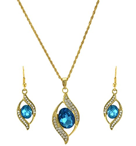 SaySure - Jewelry Set 18K Gold Plated Chain Pendant Necklace