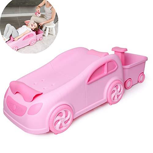 Kinder Shampoo Stuhl nach Hause einstellbar Rutschfeste Qualität PP Auto Baby Shampoo Sessel -