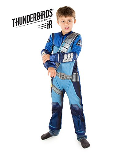 Thunderbirds Are Go! Scott Tracy Fancy Dress Costume (Official ITV Licensed) (7-8 years) by Pretend to Bee