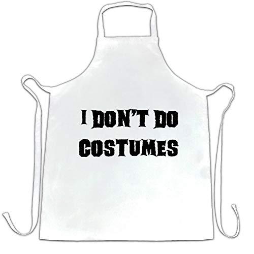 hürze des Chefs I Do not Kostüme tun White One Size ()